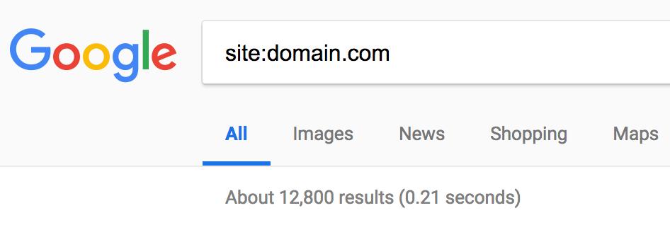 Duplicate content SEO error